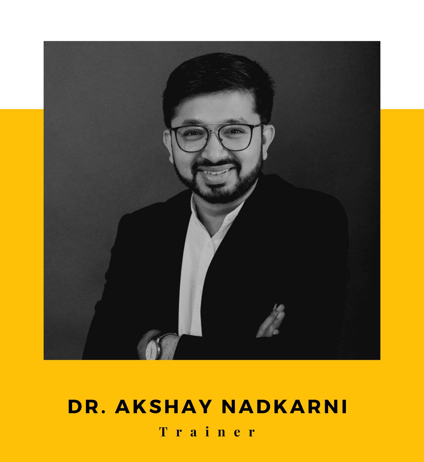 Dr. Akshay Nadkarni Popstar 1